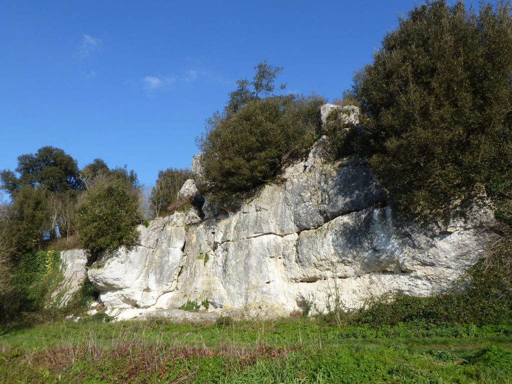 La falaise des Cadorettes
